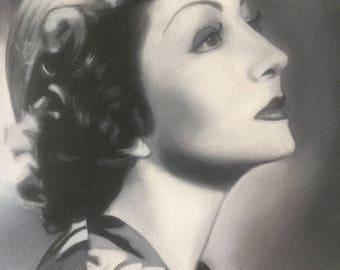 Claudette Colbert Black and White