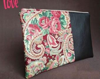 clutch, flowers purse, ladys purse