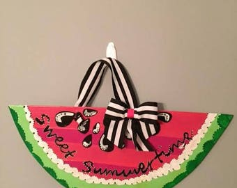 Watermellon Door Hanger /Sweet Summertime!
