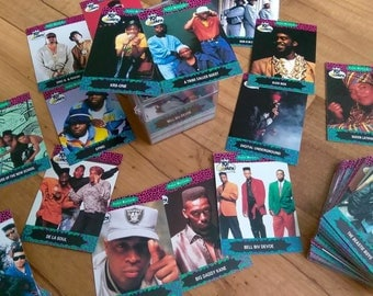Vintage NKOTB, Marvel and YO! Mtv Raps! Trading Cards Mint condition