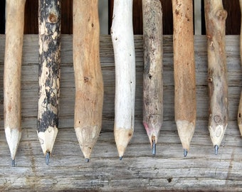 Driftwood Pencils