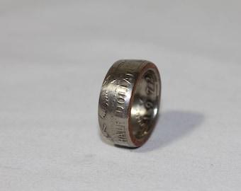 US Half Dollar ring