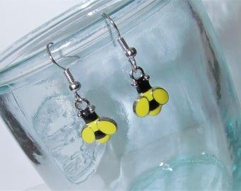 bumblebee beauty earrings