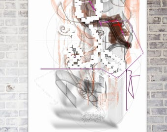 Print Illustration - 'Present'