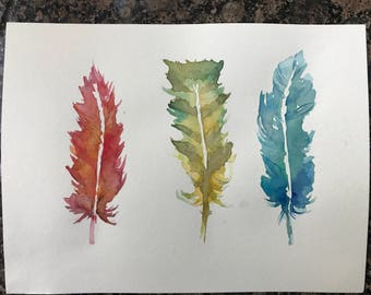 Fire, Earth and Water - Handpainted Original