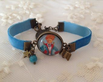 Bracelet velvet elastic the little Prince.