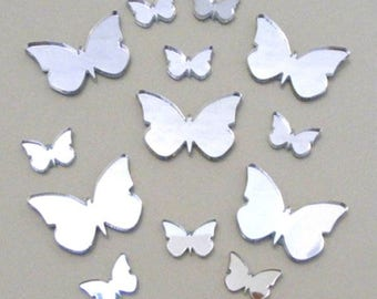 Assorted Butterflies Arylic Mirrors