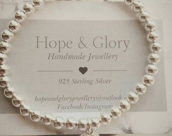 Sterling Silver Stacker Bracelet