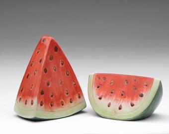 Watermelon Salt and Pepper Shaker Set (260-09)