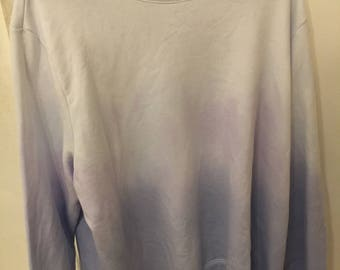 Ombré dyed sweatshirt