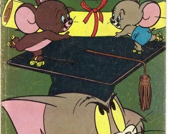Vintage 1980 Tom and Jerry Comics #333 by Whitman
