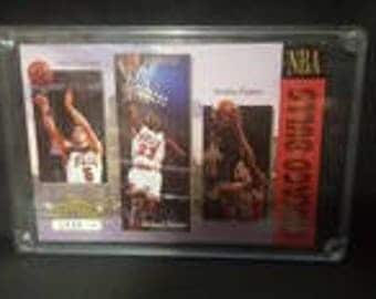 1993 Upper Deck Authenticated Limited Edition Bulls Three-time Champions