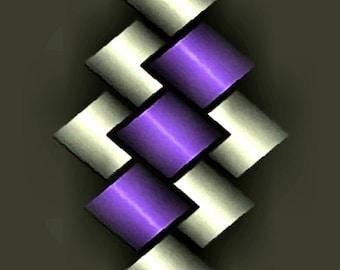 GRAPHIC METAL ART 108 - 3er set - canvas - canvas - poster - color - color - graphic art - graphic art - modern art - modern art
