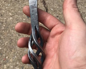 Hand crafted bottle opener