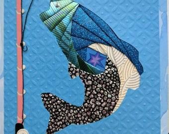 Iris Folding Fish Greeting Card