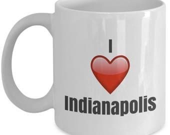I Love Indianapolis, Indianapolis mug, Indianapolis coffee mug, funny Indianapolis mug, Indianapolis gifts, Indianapolis lover gifts