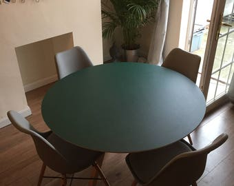 Bespoke round dining table