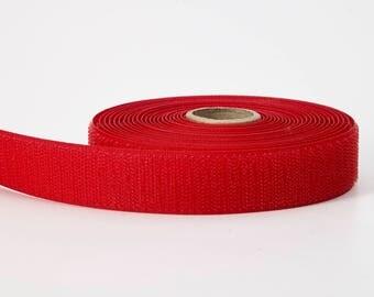 """Polypropylene webbing, 1.5"""" Wide, 10 yds, Red"""