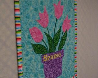 Tulip Wall Hanging