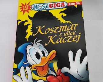 MEGAGIGA tom34 nightmare Street Duck comics
