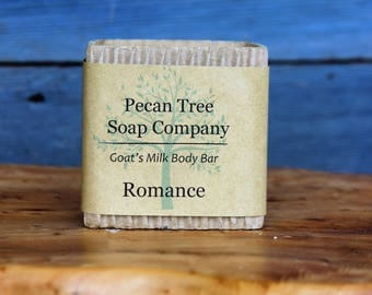 Romance Goats Milk Body Bar Soap