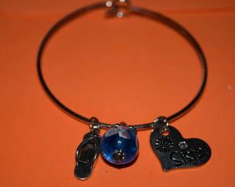 """Charm bracelet """"Sister"""""""