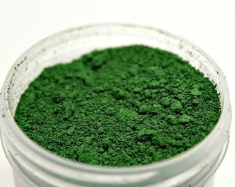 Chromium green oxide soap colorant - Soap making Supplies -  cold process soap colorant - soap pigment