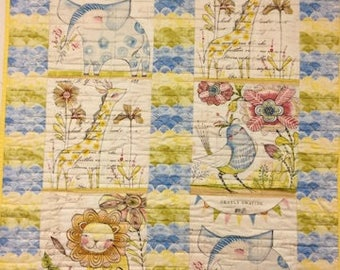 kid quilts and other handmade items