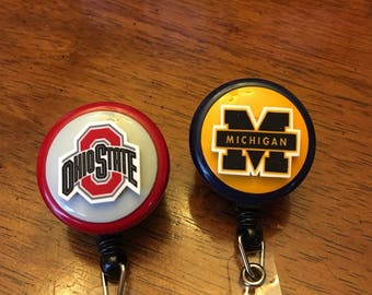College Team Spirit Badge Holder