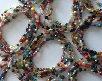 Multi-colored Beaded Necklace