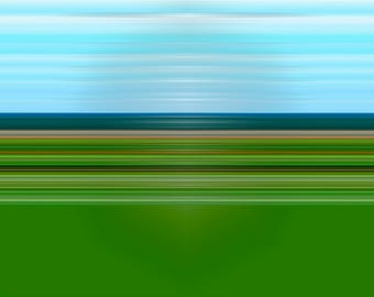 "Abstract photography ""Vast landscape"" minimalist, photo poster"