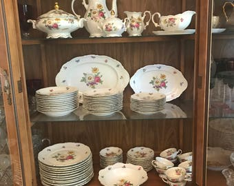 Vintage Mitterteich Bavaria Germany China Set