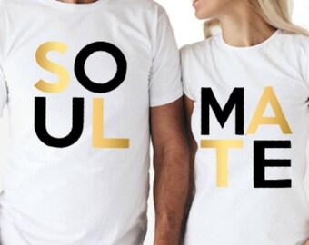 Soul Mate Couple Tshirt
