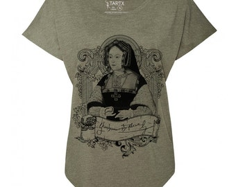 Catherine of Aragon Tri-Blend Dolman T-Shirt  XS-3XL