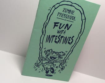 Zombie Preschool Fun with Intestines Mini Comic