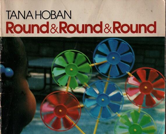 Round & Round - Tana Hoban - 1983 - Vintage Kids Book