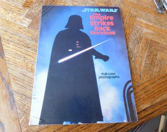 Vintage Star Wars The Empire Strikes Back Storybook 1980
