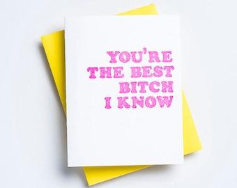 Best Bitch Card