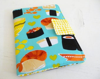 Kindle Paperwhite Cover, Kindle Touch Case, Bright Sushi Book Style Cover for eReader