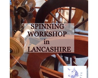 Spinning Workshop - learn to spin - handspinning - spinning course - Lancashire- North West