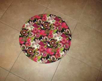 Steering wheel cover, auto accessory, multi color, car accessory, fabric cover, wheel cover, cover, pickup, car, van, truck, floral