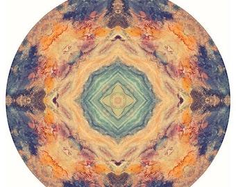 Mandala Wall Art, Large Art, Abstract Print, Meditation Artwork, Peaceful Art, Photography Print, Wall Art Print, Mandala Art