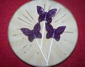 56 butterfly lollipops