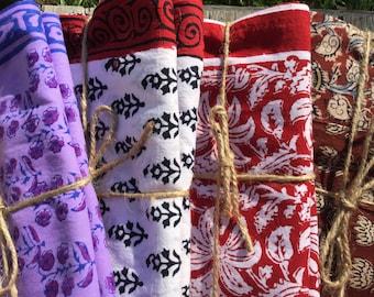 King size Pillowcases, Cotton Pillowcases, Handmade, Indian Prints, Bedding, Handmade Pillowcase