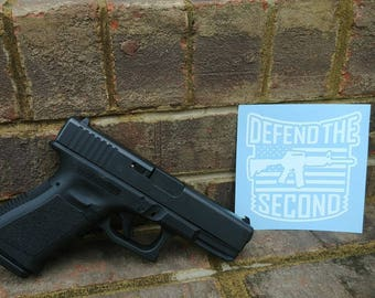 Defend the Second Decal//Guns//2A
