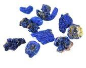 Rough Azurite Chunks - (20 grams) (NS720)