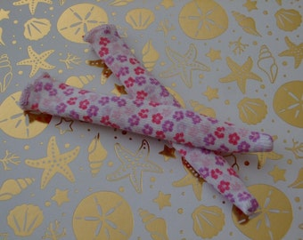 Blythe / DAL Socks - Elise's Flower Bed
