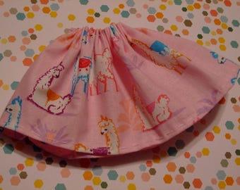 Blythe / DAL Skirt - My Silly Little Llamas
