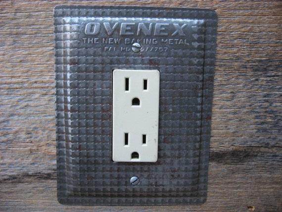 Antique Kitchen Light Switch Cover GFCI Outlet Rocker