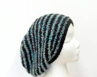 Slouchy hat | Knitted hat| Womens hat| Handmade hat